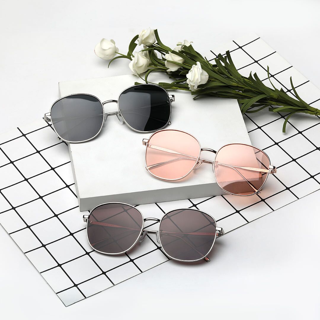 Солнцезащитные очки Xiaomi Matter Wave Metal Square Fashion Sunglasses
