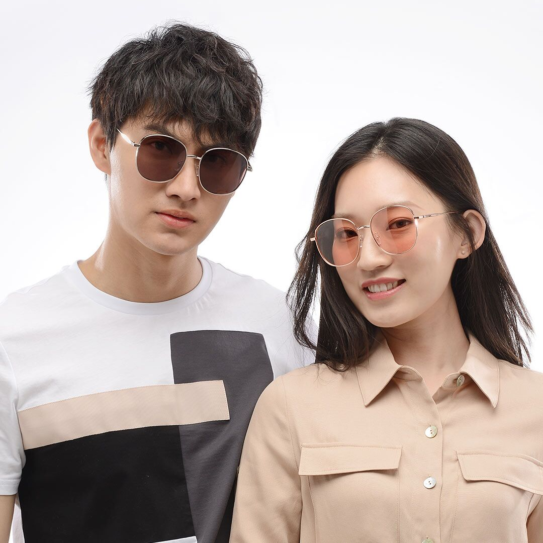 Солнечные очки Xiaomi Matter Wave Metal Square Fashion Sunglasses