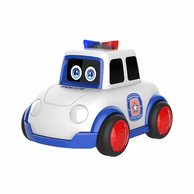 Xiaomi Onego Little Magic Bean Ai Variety Robot Police Car (Blue)
